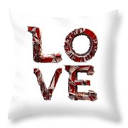 Love You To Death Throw Pillow