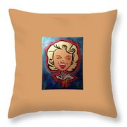 Loved By You Throw Pillow