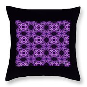 Lovely As A Purple Thought Throw Pillow