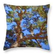 Lovely As A Tree Throw Pillow