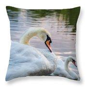 Lovely Couple Throw Pillow