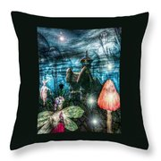 Lovely Evening For A Stroll Throw Pillow