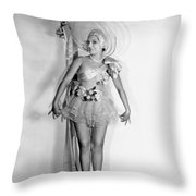 Lovely In Lace Throw Pillow