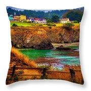 Lovely Mendocino Throw Pillow