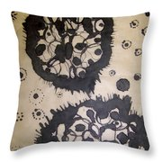 Lovely Mutation Throw Pillow