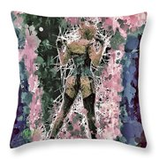 Lovely Silhouette Throw Pillow