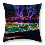 Lovely Sky Throw Pillow by Savannah Fonner