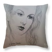 Lovely Vivien Throw Pillow
