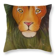 Lovelylion Throw Pillow
