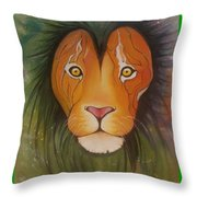 Lovelylion Throw Pillow
