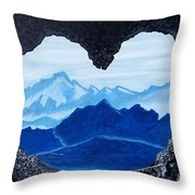 Lovers Cave Throw Pillow