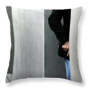Lovers In Berlin Throw Pillow