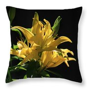 Lover's Lilly Throw Pillow