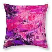 Lovers Throw Pillow