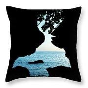 Lovers Rock Throw Pillow