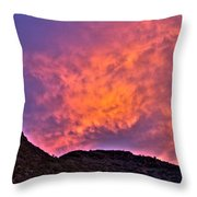Lover's Sky Throw Pillow