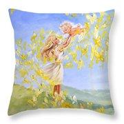Love's Flight Throw Pillow