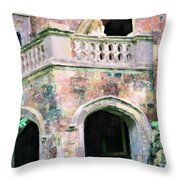 Lovesick Bride Throw Pillow