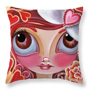 Lovey Dovey Throw Pillow