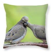 Lovey Doveys Throw Pillow