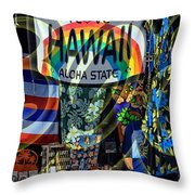 Lovin' 808 Throw Pillow