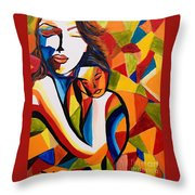 Loving Mom Throw Pillow