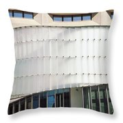 Low Angle View Of A Building, Dr. A. H Throw Pillow