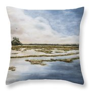 Low Country II Throw Pillow