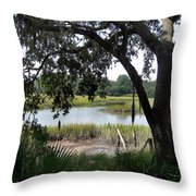 Low Country Throw Pillow