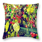 Low Hanging Fruit Throw Pillow