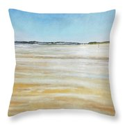 Low Tide North Throw Pillow