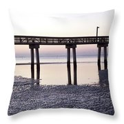 Low Tide Reflected Gp Throw Pillow