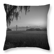 Lowcountry Ghost Throw Pillow