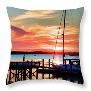 Lowcountry Leisure Throw Pillow