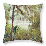Lowcountry Summer Throw Pillow