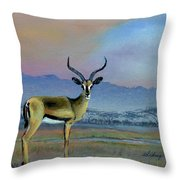 Lowell's Gazelle Throw Pillow
