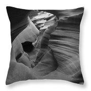 Lower Antelope Canyon 2 7843 Throw Pillow