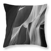 Lower Antelope Canyon 7746 Throw Pillow