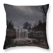 Lower Ball's Falls Throw Pillow