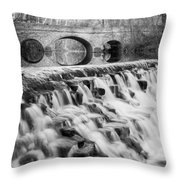 Lower Buckeye Falls Throw Pillow