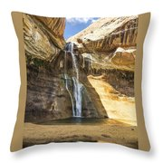 Lower Calf Creek Fall Throw Pillow