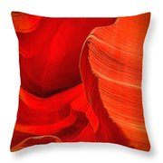 Lower Canyon 21 Throw Pillow