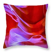 Lower Canyon 22 Throw Pillow