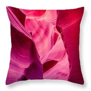 Lower Canyon 24 Throw Pillow