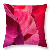 Lower Canyon 25 Throw Pillow