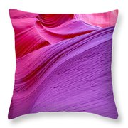Lower Canyon 30 Throw Pillow