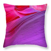 Lower Canyon 31 Throw Pillow