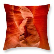 Lower Canyon 34 Throw Pillow