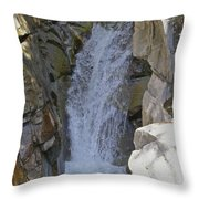 Lower Christine Falls Throw Pillow