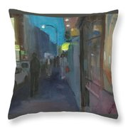 Lower East Side Throw Pillow